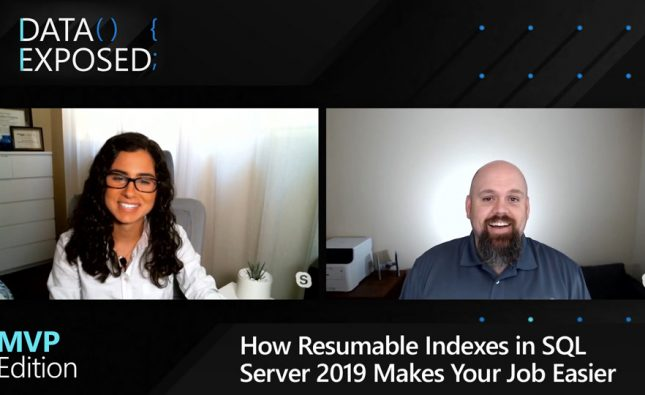 How Resumable Indexes in SQL Server 2019 Makes Your Job Easier