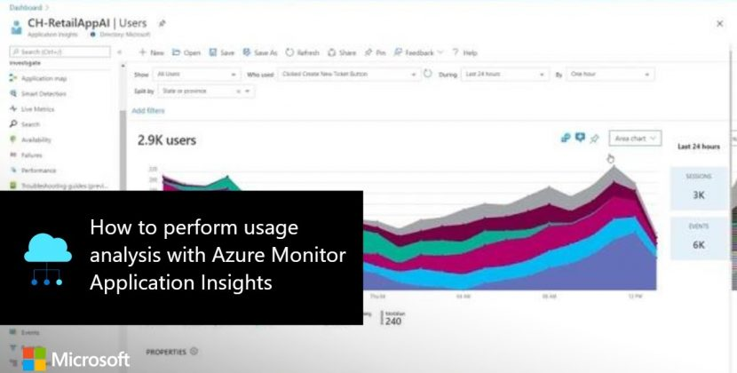 How to Perform Usage Analysis with Azure Monitor Application Insights