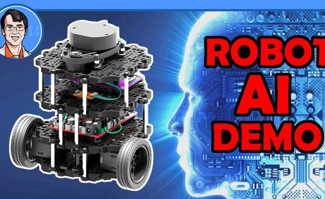 Robot AI Demo – NVidia Deep Learning, ROS Navigation, Raspberry Pi