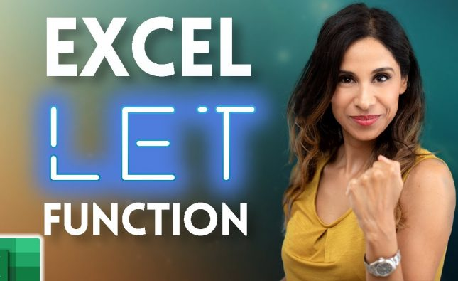 When You Should Use the New Excel LET Function