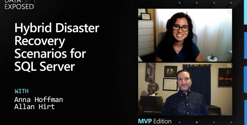 Hybrid Disaster Recovery Scenarios for SQL Server