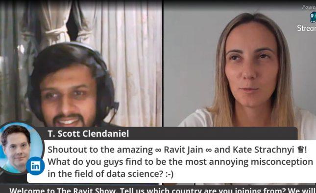 Ravit Jain Interviews Kate Strachnyi Live