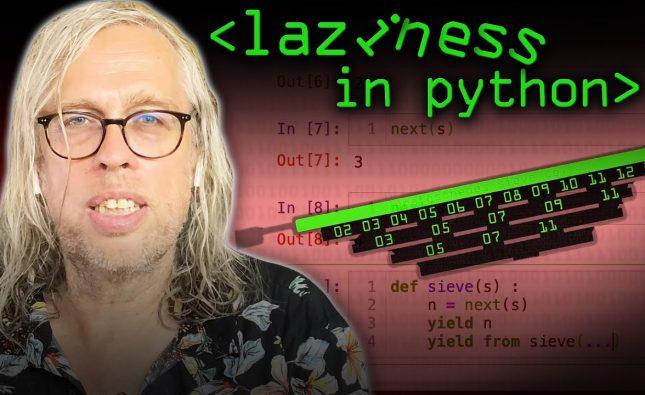 Laziness in Python