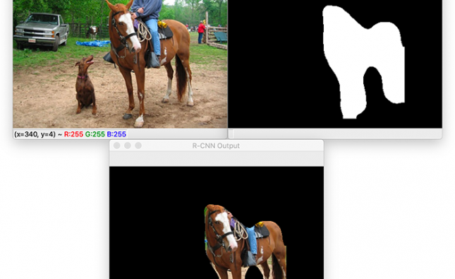 Image Segmentation with Mask R-CNN, GrabCut, and OpenCV