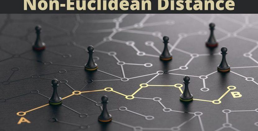 The Applications of Non-Euclidean Distance