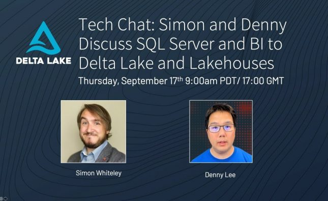 SQL Server and BI to Delta Lake and Lakehouses