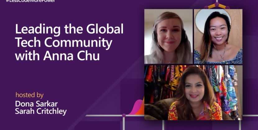 Leading the Global Tech Community with Anna Chu