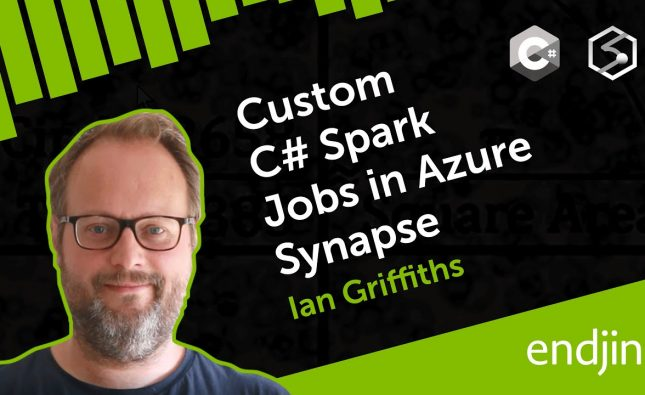 Custom C# Spark Jobs in Azure Synapse Analytics