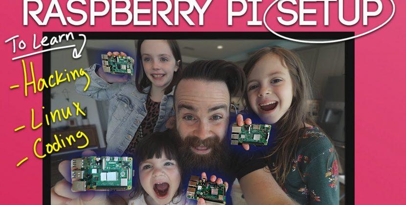 How to Setup a Raspberry Pi Learning Desktop