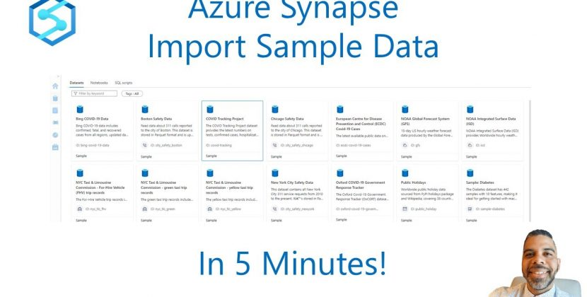 Import Sample Data into Azure Synapse in 5 Minutes