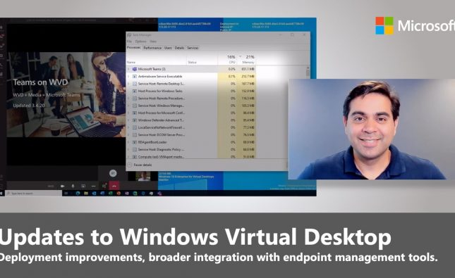 Windows Virtual Desktop 2020 Updates