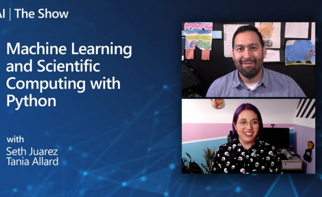 Machine Learning and Scientific Computing with Python