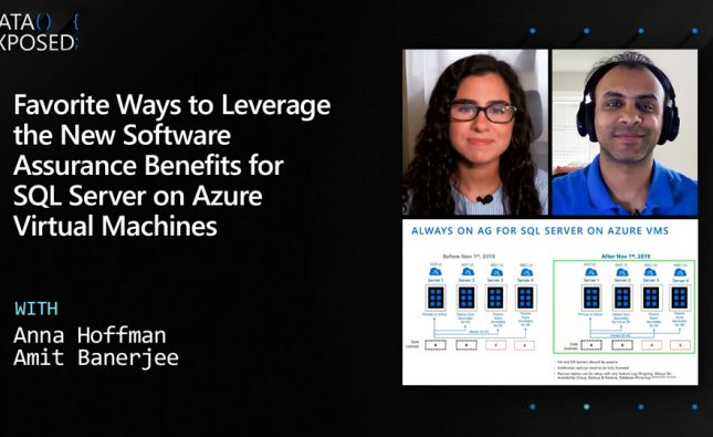 New Software Assurance Benefits for SQL Server on Azure Virtual Machines