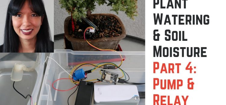 House Plant Monitoring and Watering with IoT