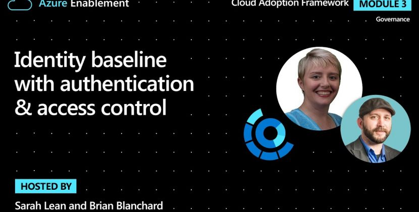 Identity Baseline with Authentication & Access Control
