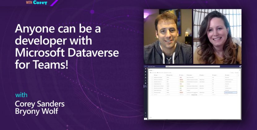 Anyone Can be a Developer with Microsoft Dataverse for Teams