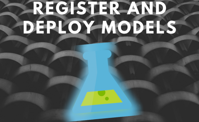 Register and Deploy a Model in the Azure ML Service