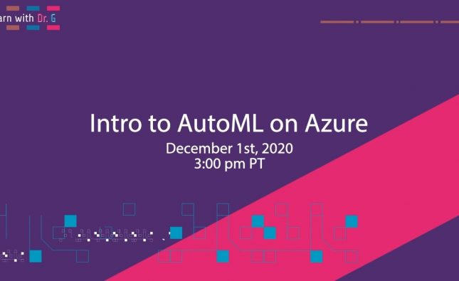 Intro to AutoML on Azure