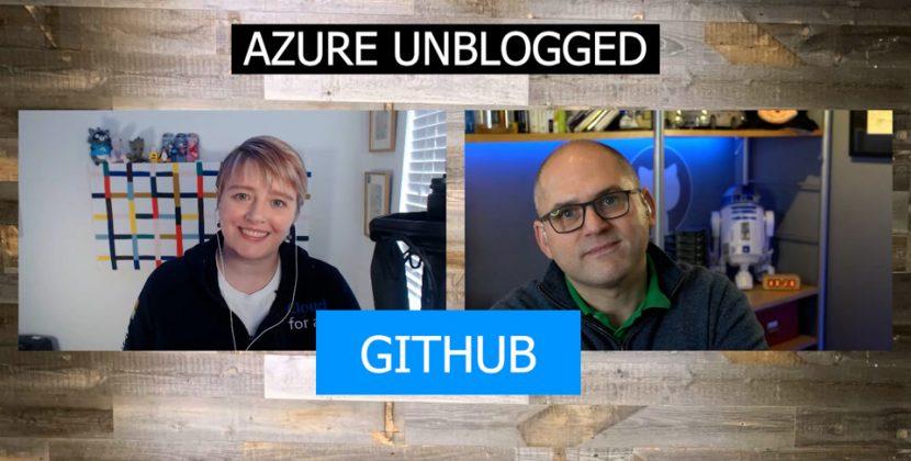 Azure Unblogged on GitHub