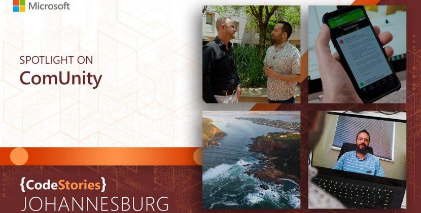CodeStories South Africa: Spotlight on ComUnity