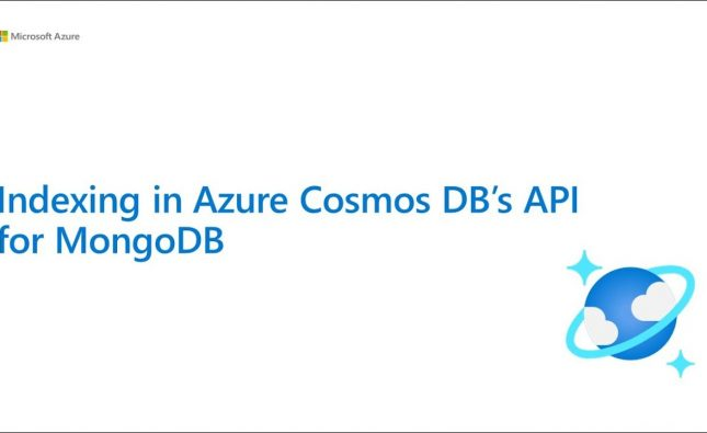 Indexing Best Practices for Azure Cosmos DB API for MongoDB