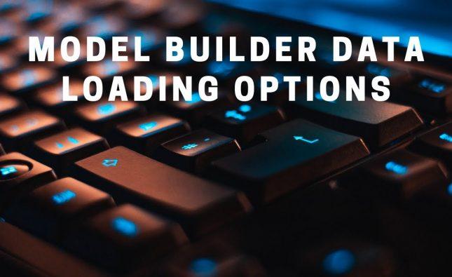 New Data Loading Options in ML.NET Model Builder