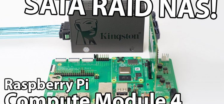 Is This the Fastest Raspberry Pi SATA RAID NAS?