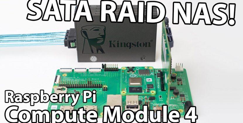 Is This the Fastest Raspberry Pi SATA RAID NAS?