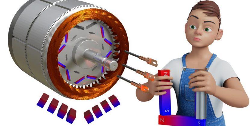 The Brilliant Engineering Behind the Tesla Model 3's Motor