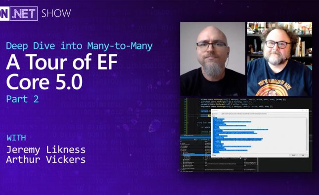 A Tour of EF Core 5.0 Part 2