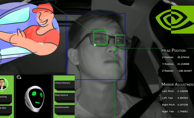 NVIDIA's AI Algorithms that Monitor Driver Attention