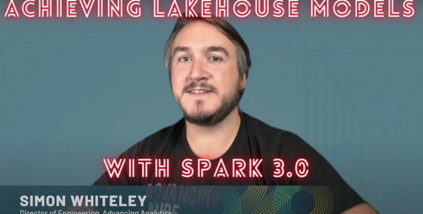 Achieving Lakehouse Models with Spark 3.0
