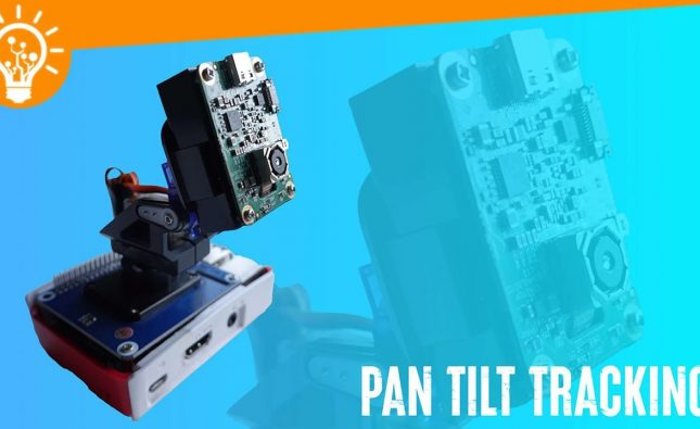 Raspberry Pi Pan Tilt Tracking with OpenCV AI Kit