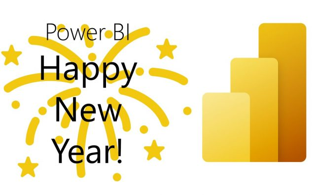 Happy New Year from Power BI