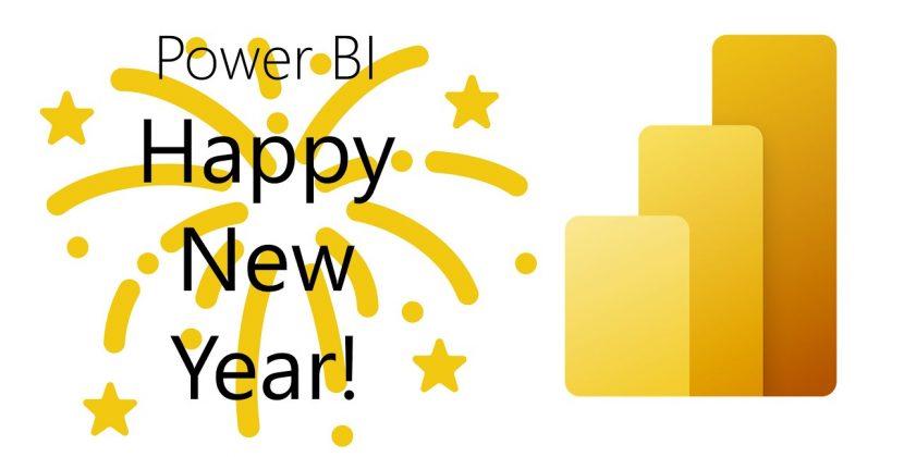 Happy New Year from Power BI