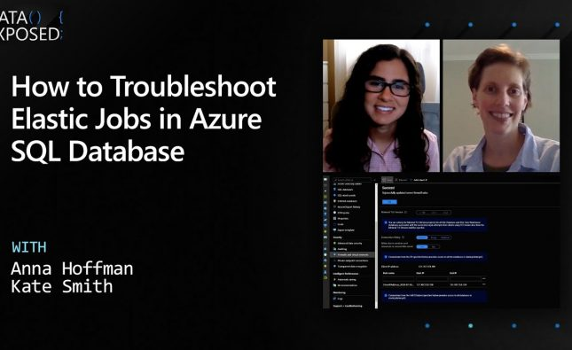 How to Troubleshoot Elastic Jobs in Azure SQL Database