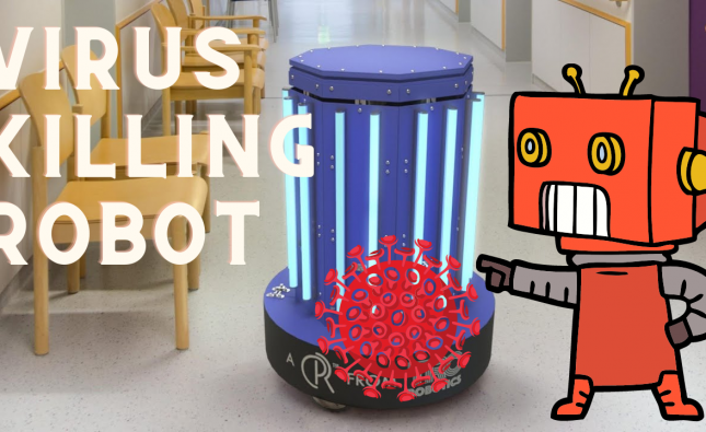 Meet the Virus Killing Robot